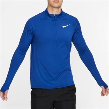 Nike Element 1/4 Zip Pullover - Indigo Force/Reflective Silver