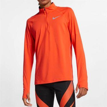 Nike Element 1/4 Zip Pullover - Team Orange/Reflective Silver