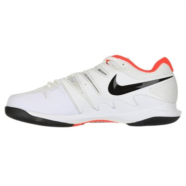 Nike Air Zoom Vapor X Wide Mens Tennis Shoe - White/Black/Bright Crimson