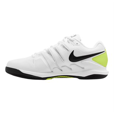 Nike Air Zoom Vapor X Wide Mens Tennis Shoe White/Black/Volt AH9066 107