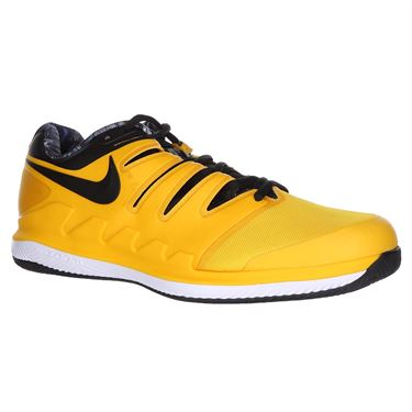 Nike Air Zoom Vapor X Mens Wide Tennis Shoe - University Gold/Black/White/Volt Glow