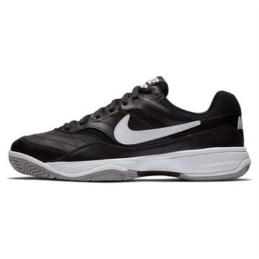Nike Court Lite (Wide) Mens Tennis Shoe - Black/White