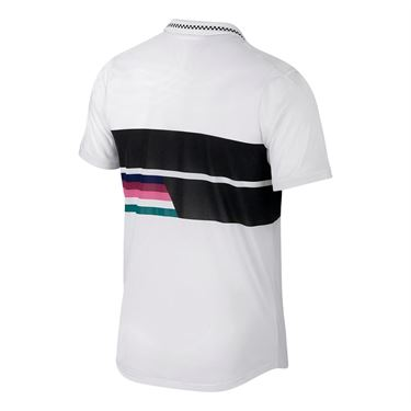 Nike Court Advantage Classic Polo - White/Black