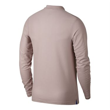 Nike RF Long Sleeve Polo - Particle Rose