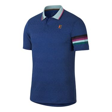 Nike Court Advantage Polo - Indigo Force