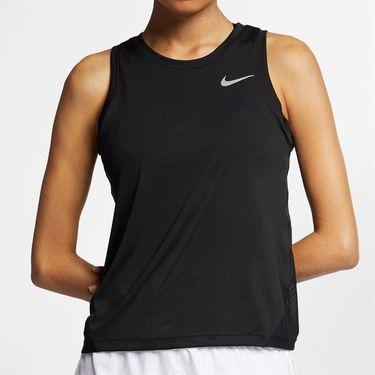Nike Miler Tank Womens Black/Reflective Silver AJ8102 010