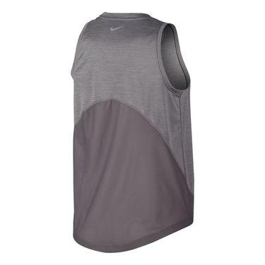 Nike Miler Tank Womens Gunsmoke/Atmosphere Grey/Reflective Silver AJ8102 056