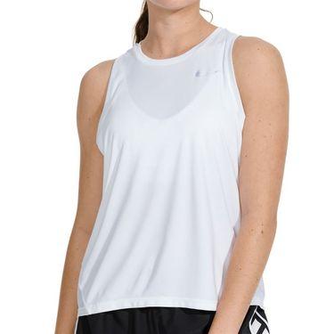 Nike Miler Tank Womens White/Reflective Silver AJ8102 100
