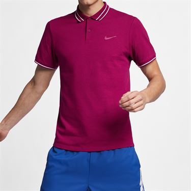 Nike Court Advantage Polo - True Berry