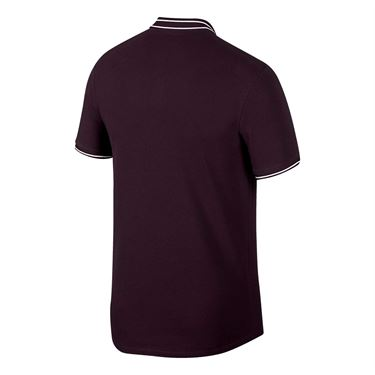 Nike Court Advantage Polo - Burgundy