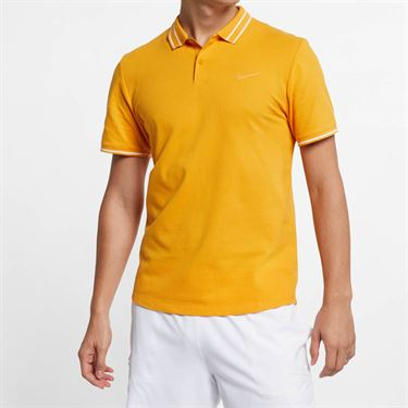 Nike Court Advantage Polo - Canyon Gold