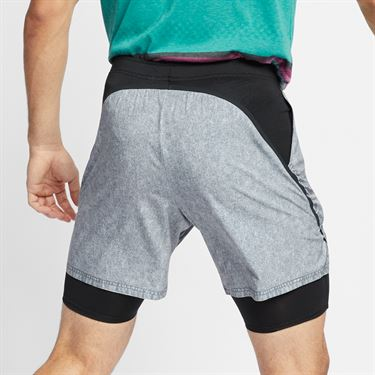 Nike Court Dri Fit Flex Ace Short - Cool Grey/Black