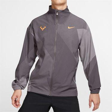 Nike Court Rafa Full Zip Jacket - Thunder Grey/Laser Orange