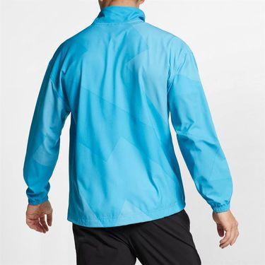 Nike Rafa Full Zip Jacket - Light Blue Fury/Obsidian