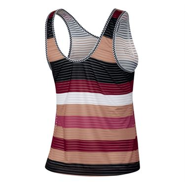 Nike Court Dry Tank - Rose Gold/Black/White