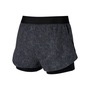 Nike Court Dry Flex Short - Black/White