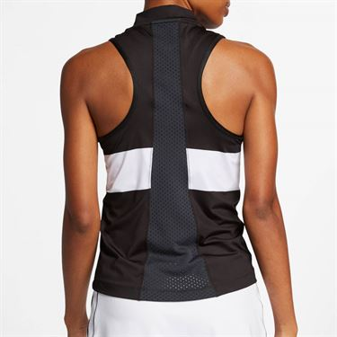 Nike Court Dry Power Slam Tank - Black/White