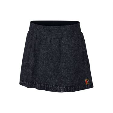 Nike Court Dry Slam Skirt - Black/White