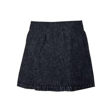 Nike Court Dry Slam Skirt - Black/White