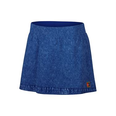 Nike Court Dry Slam Skirt - Indigo Force/White