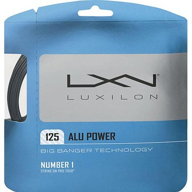 Luxilon Big Banger ALU Power 125 Silver Tennis String