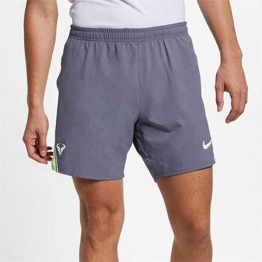 Nike Court Rafa Flex Ace 7 inch Short - Light Carbon/Volt Glow