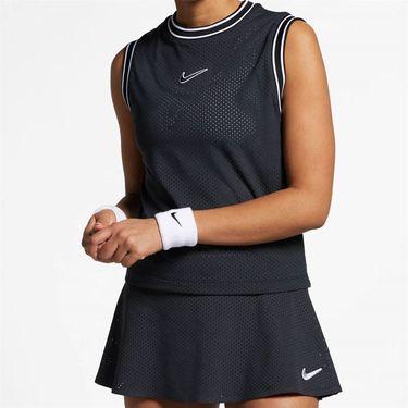 Nike Court Sleeveless Top - Black