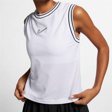 Nike Court Sleeveless Top - White