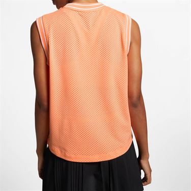 Nike Court Sleeveless Top - Orange Pulse