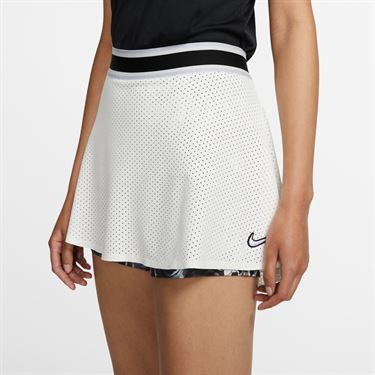 Nike Court Essential Skirt - Sail/Oxygen Purple