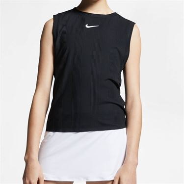 Nike Court Maria Dry Tank - Black/Sail