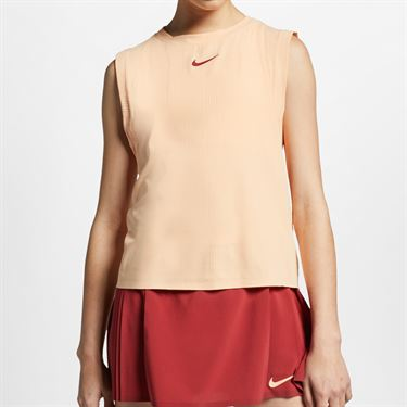 Nike Court Maria Dry Tank - Sunset Haze/Team Crimson