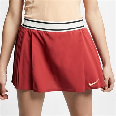 Nike Court Maria Flex Victory Skirt - Team Crimson/Sail