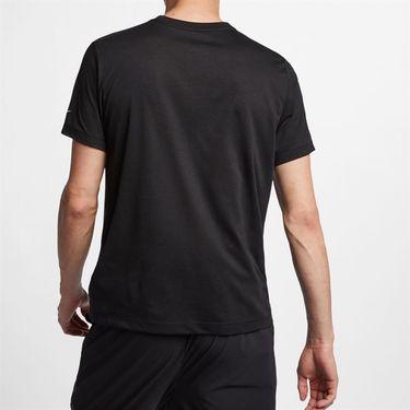 Nike Court Dri Fit Rafa Tee - Black/White