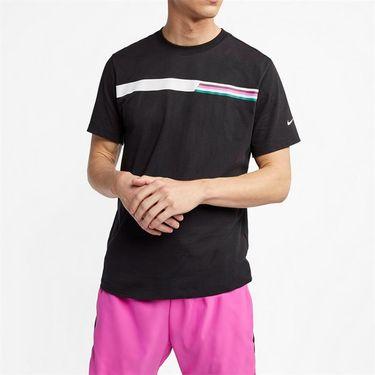 Nike Court Graphic Tee - Black/White