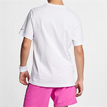 Nike Court Graphic Tee - White/Black