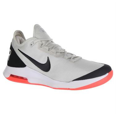 Nike Air Max Wildcard Mens Tennis Shoe - Light Bone/Black/Hot Lava/White
