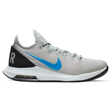 Nike Court Air Max Wildcard Mens Tennis Shoe Light Smoke Grey/Blue Hero/Off Noir/White AO7351 005