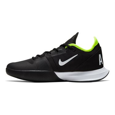 Nike Court Air Max Wildcard Mens Tennis Shoe Black/White/Volt AO7351 007