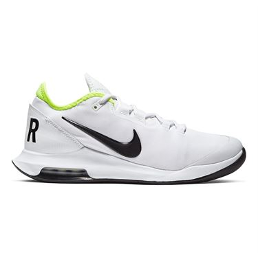 Nike Court Air Max Wildcard Mens Tennis Shoe White/Black/Volt AO7351 104