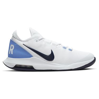 Nike Court Air Max Wildcard Mens Tennis Shoe White/Obsidian/Royal Pulse AO7351 106