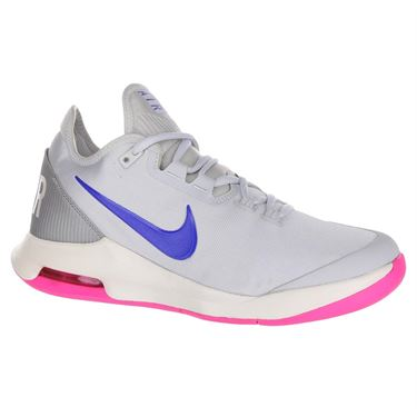 Nike Air Max Wildcard Womens Tennis Shoe - Pure Platinum/Racer Blue/Metallic Platinum