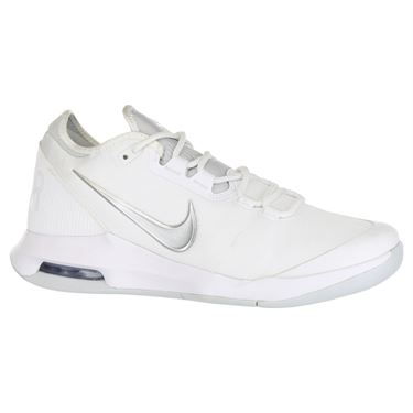 Nike Air Max Wildcard Womens Tennis Shoe - White/Metallic Silver