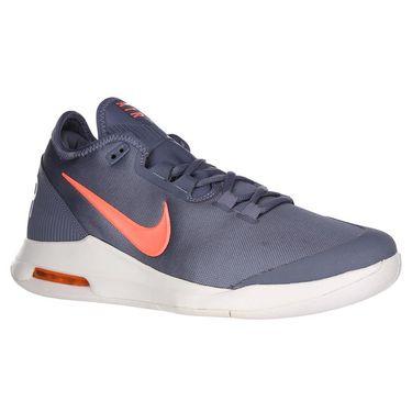 Nike Air Max Wildcard Womens Tennis Shoe - Metallic Blue Dusk/Bright Mango/Phantom