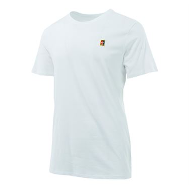 Nike Court Logo Tee - White