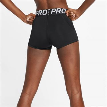 Nike Pro Shorties - Black/White