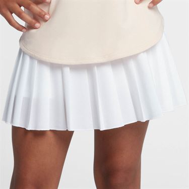 Nike Girls Court Victory Skirt - White/Black
