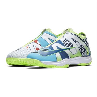 Nike Zoom Cage 3 Glove Clay Mens Tennis Shoe - Volt Glow/White