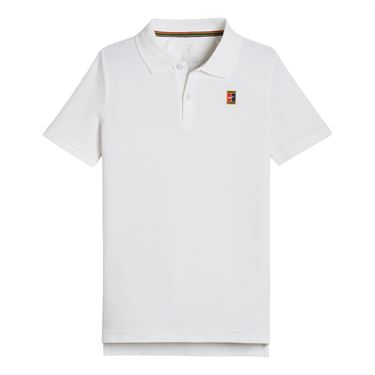Nike Boys Court Polo - White
