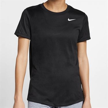 Nike Dry Legend Top - Black/White